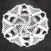 Spinning Spiders Doily