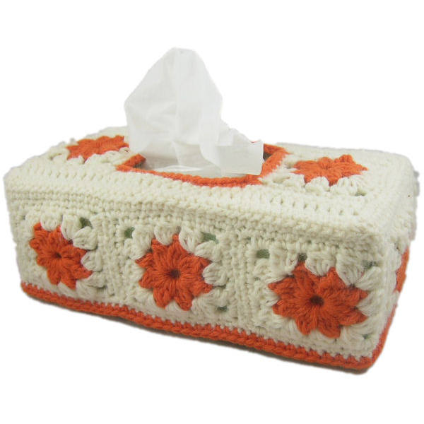 Clusters Tissue Box Cover