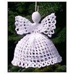 Filet Angel Ornament