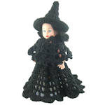 Abigail Witch Air Freshener Doll