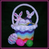 Rippled Rainbow Easter Basket