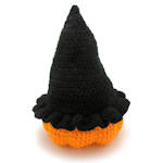 Pumpkin and Witch's Hat Candy Dish