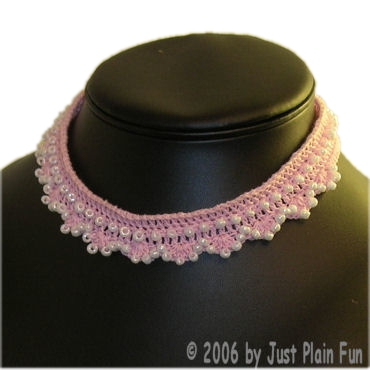 Beaded Shells Choker
