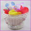Beaded Flower Girl Basket