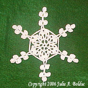 Winter Suncatcher Snowflake