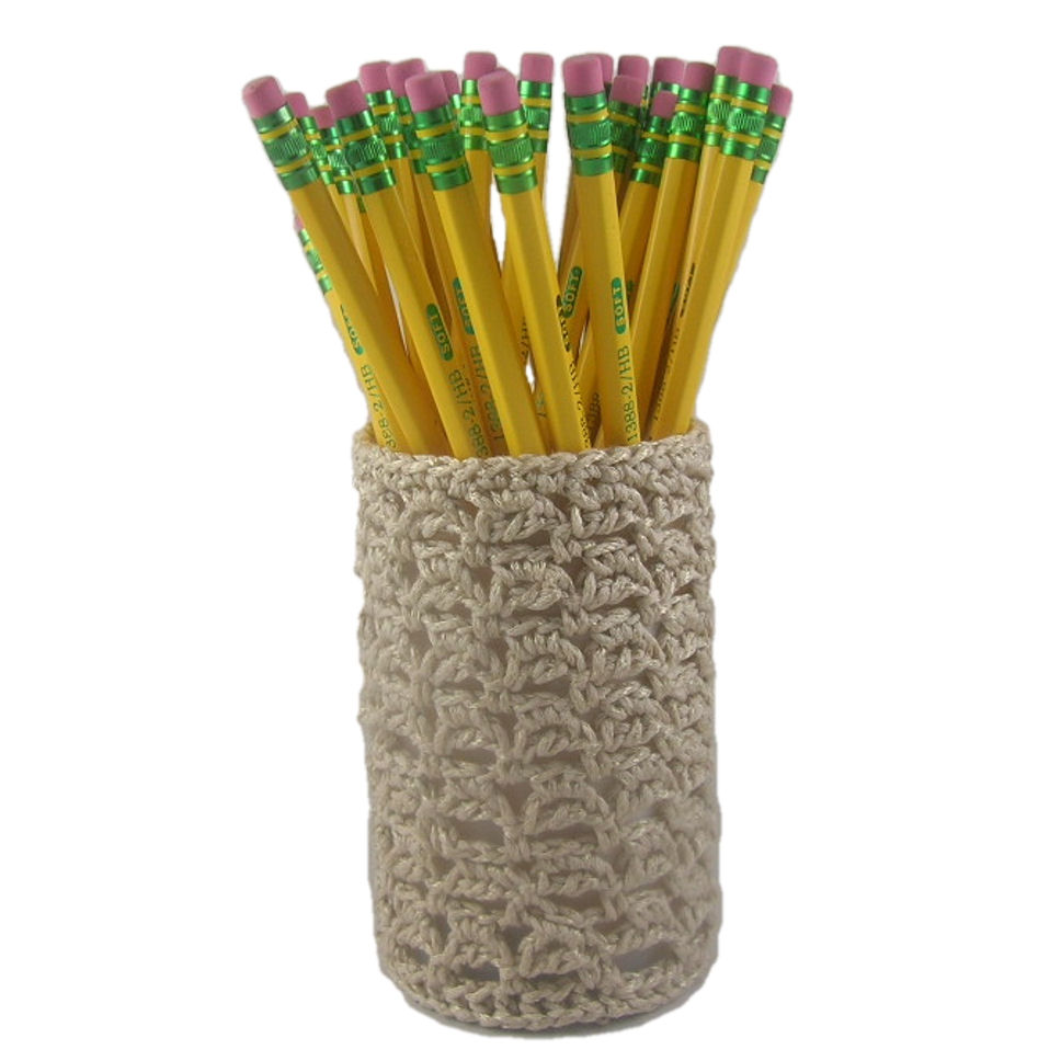 Linked Bumps Pencil Cup