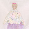 Scalloped Fashion Doll Poncho