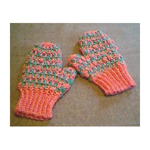 Checker Stitch Mittens