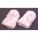 Infant or Dolls Thumbless Mittens