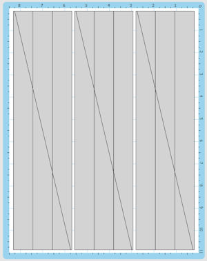 Icicles Cutting Map