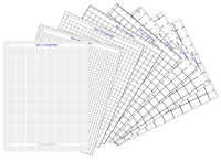 Basic Graph Paper Collection